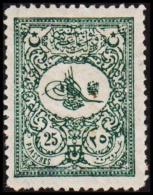 1901. 25 PIASTRES. (Michel: 106) - JF193753 - 1921-... République