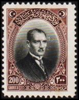 1926. MUSTAFA KEMAL PASCHA 200 GROUCH (Michel: 856) - JF193767 - 1921-... République