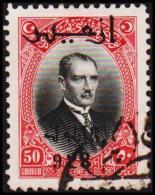 1928. SMYRNA EXHIBITION. MUSTAFA KEMAL PASCHA 50 GROUCH (Michel: 879) - JF193771 - 1921-... République