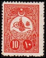 1908. 10 PIASTRES. (Michel: 141) - JF193756 - 1921-... République