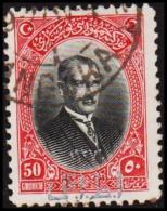 1927. SMYRNA EXHIBITION. MUSTAFA KEMAL PASCHA 50 GROUCH (Michel: 866) - JF193769 - 1921-... République