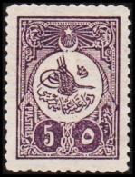 1908. 5 PIASTRES. (Michel: 140) - JF193755 - 1921-... République