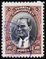 1930. MUSTAFA KEMAL PASCHA. 500 KURSUS.  (Michel: 912) - JF193787 - 1921-... République