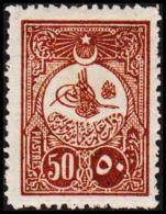 1908. 50 PIASTRES. (Michel: 143) - JF193757 - 1921-... République