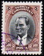 1930. MUSTAFA KEMAL PASCHA. 500 KURSUS.  (Michel: 912) - JF193792 - 1921-... République