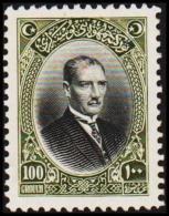 1926. MUSTAFA KEMAL PASCHA 100 GROUCH (Michel: 855) - JF193766 - 1921-... République