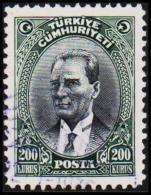 1930. MUSTAFA KEMAL PASCHA. 200 KURSUS.   (Michel: 911) - JF193785 - 1921-... République