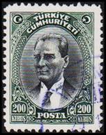 1930. MUSTAFA KEMAL PASCHA. 200 KURSUS.   (Michel: 911) - JF193783 - 1921-... République