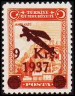 1937. AIR MAIL 9 Krs. 1937 / 15 Ks. (Michel: 1017) - JF193772 - 1921-... République