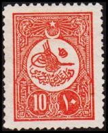 1909. 10 PIASTRES. (Michel: 166) - JF193759 - 1921-... République