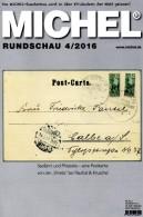 Briefmarken Rundschau MICHEL 4/2016 Neu 6€ New Stamps Of The World Catalogue/magacine Of Germany ISBN 978-3-95402-600-5 - Badges