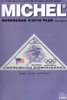MICHEL Briefmarken Rundschau 4/2016-plus Neu 6€ Stamps Of The World Catalogue/magacine Of Germany ISBN 978-3-95402-600-5 - Badges