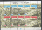NIUAFO´OU ,1995, MNH,WWII, WORLD WAR, VICTORY IN THE PACIFIC, TANKS, SOLDIERS, BEACH LANDING, SHEETLET, HIGH CV. - 2. Weltkrieg
