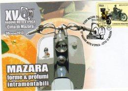 Mazara Del Vallo  (TP) - 2013 - 15° Raduno Moto D'Epoca - Città Di Mazara - - Motociclismo