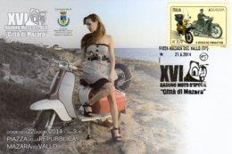 Mazara Del Vallo  (TP) - 2014 - 16° Raduno Moto D'Epoca - Città Di Mazara - - Motociclismo