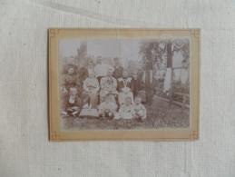 ANCIENNE  PHOTO  SUR CARTON  / PORTRAIT DE FAMILLE  / ANONYME - Photographs