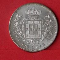 PORTUGAL 500 REIS 1891 - 12,50 GRS - 0,917 SILVER   KM# 535 - (Nº14647) - Portugal