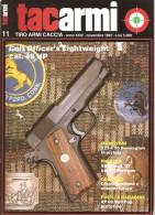 TACARMI   ANNO XXIV  N.11  NOVEMBRE 1987 - Revues & Journaux