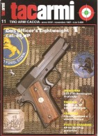 TACARMI   ANNO XXIV  N.11  NOVEMBRE 1987 - Riviste & Giornali