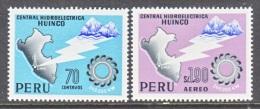 PERU  502, C 205   **      MAP - Peru