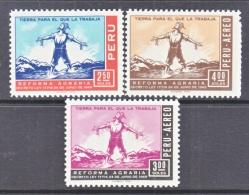 PERU  519, C 246-7  **    FARMING - Peru