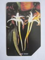 Urmet Phonecard,SRL-18 Orchids,used - Sierra Leone