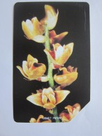 Urmet Phonecard,SRL-15 Orchids,used With Tiny Scratch