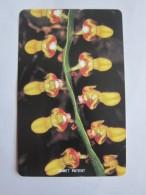 Urmet Phonecard,SRL-19 Orchids,mint