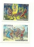 1998 - Georgia 291/92 Europa^ - Georgia