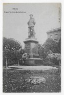 METZ EN 1919 - STATUE FRIEDRICH KARL DENKMAL - CPA VOYAGEE - Metz