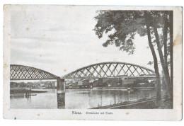 10324  Cpa  RIESA  : Elbbrucke Mit Stadt - Riesa