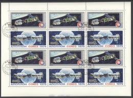 Sowjetunion 4372/73 Kleinbogen O - 1923-1991 USSR