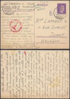 AA471 Entier Censuré De Kochstedt Allemagne à Jumet Belgique 1944 - Ganzsachen