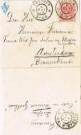BR 475 BRIEF VAN ZUTPHEN NAAR AMSTERDAM  4 MEI 05 ZIE 2 SCANS - Periode 1891-1948 (Wilhelmina)