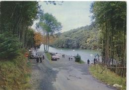 """Saint Laurent De Terregatte : Lac De La Roche Qui Boit """"Le Rocher Bar"""" Pédalos Barques (n°50111 Combier Neuve) - Autres Communes"""