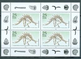 DDR Kleinbogen Mi-Nr. 3325 - 100 Jahre Museum Naturkunde Berlin Postfrisch - DDR