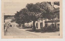 Ain DIVONNE LES BAINS La Grande Rue Et Hôtelde L'écu D'or - Divonne Les Bains