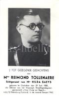 Doodsprentje / Bidprentje / Avis De Décès / Deathcard / Mortuaire / Reimond Tollenaere / Officier / Gesneuveld - Religion & Esotérisme