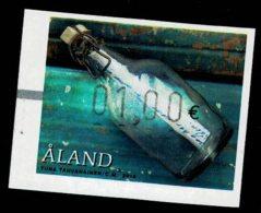 Aland 2016 ATM Label Beach Finds - Bottle 1,00 Euro Value 1v Complete Set ** MNH - Aland