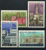 FRANCE  ( POSTE ) : Y&T N°  1152/55  TIMBRES  NEUFS/MNH  SANS  TRACE  DE  CHARNIERE , A VOIR . - Neufs