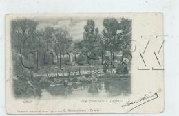 Chieti (Italie, Ambruzzo) : Villa Comunale Laghetti 1905 (animé) PF. - Chieti