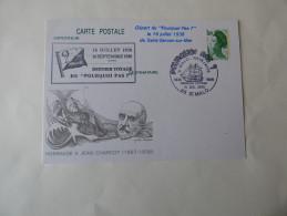 Carte Maximum   Hommage à Jean Charcot - Other