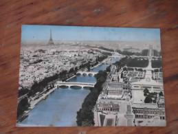 Paris Avion Sur Paris 1972 - Multi-vues, Vues Panoramiques