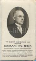 Doodsprentje / Bidprentje / Avis De Décès / Deathcard / Mortuaire / Theodoor Walterus / Leuven / 1946 - Religion & Esotérisme