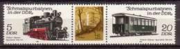DDR , 1981 , Mi.Nr. W ZD 512 ( 2630 / Zf / 2632 ) ** / MNH - Zusammendrucke