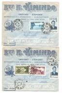 North Vietnam  4 Commercial Air Mail Covers Hanoi 1952 To France Pantin PR3074 - Viêt-Nam