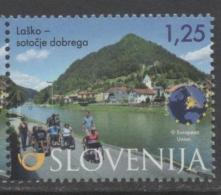 SLOVENIA, 2015 ,MNH,TOURISM, MOUNTAINS, LAKES, HANDICAPPED PEOPLE, WHEELCHAIRS,1v - Holidays & Tourism