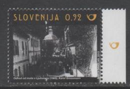 SLOVENIA, 2015 ,MNH,CINEMA, KAROL GROSSMANN, CHURCHES, MASS,1v