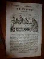1835 LM : Le Titien (Les Pélerins D'Emmaüs);Monuments Corinthiens;Les Geysers D'Islande; Vauban; Le Mercure Et Ses Appl - Vieux Papiers