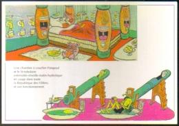 """Carte Postale édition """"Dix Et Demi Quinze"""" - Patapoufs Et Filifers D'André Maurois - Dessins De Jean Bruller Dit Vercors - Fumetti"""